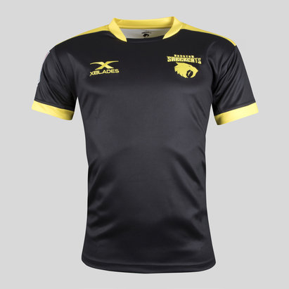 X Blades Houston SaberCats MLR 2018 Home S/S Rugby Shirt