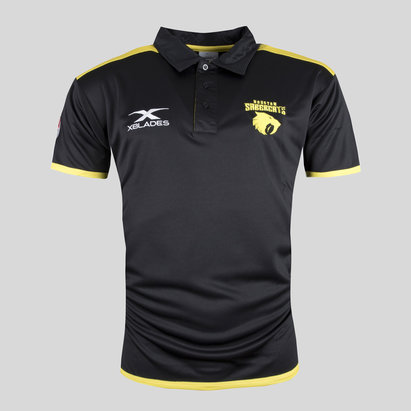 X Blades Houston SaberCats MLR 2018 Players Rugby Polo Shirt