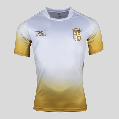 X Blades New Orleans Gold MLR 2018 Alternate S/S Rugby Shirt