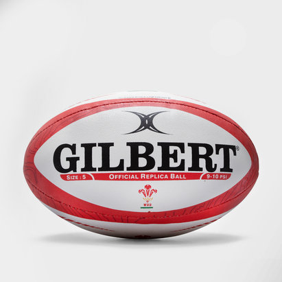 Gilbert Wales Official Replica Rugby Ball