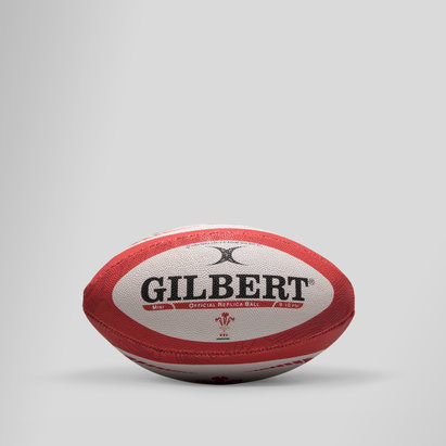Gilbert Wales Official Replica Mini Rugby Ball