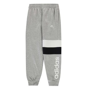 adidas Colour Block Panel Jogging Pants Junior Boys