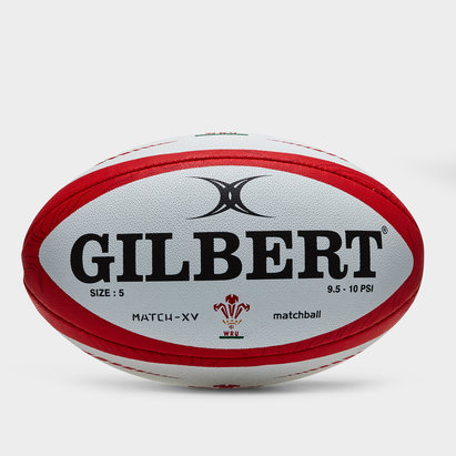 Gilbert Wales Match XV Rugby Ball