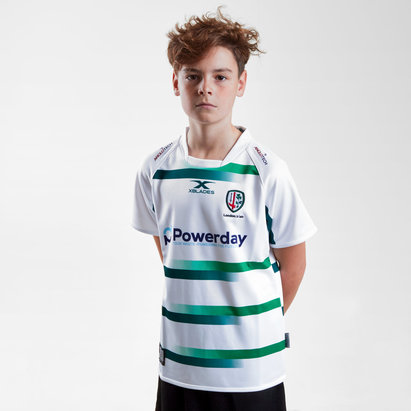 X Blades London Irish 2018/19 Kids Alternate S/S Replica Rugby Shirt