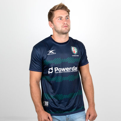 X Blades London Irish 2018/19 Players Rugby Training T-Shirt