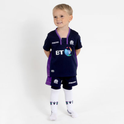 Macron Scotland 2018/19 Home Infant Kids Rugby Kit