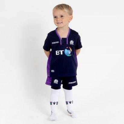 Macron Scotland 2018/19 Home Infant Kids Rugby Kit