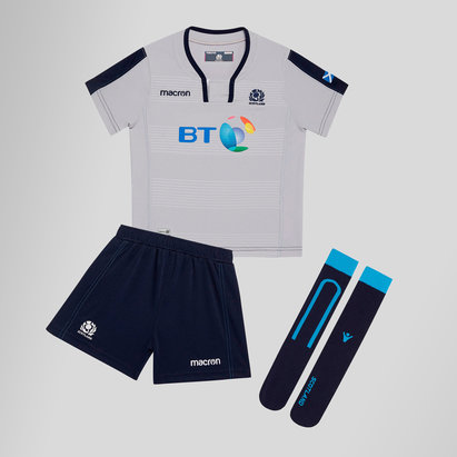 Macron Scotland 2018/19 Alternate Mini Kids Rugby Kit