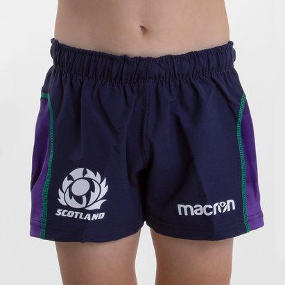 Macron Scotland 2018/19 Kids Home Rugby Shorts