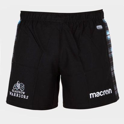 Macron Glasgow Warriors 2018/19 Kids Home Rugby Shorts
