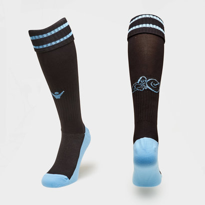 Macron Glasgow Warriors 2018/19 Home Players Rugby Socks