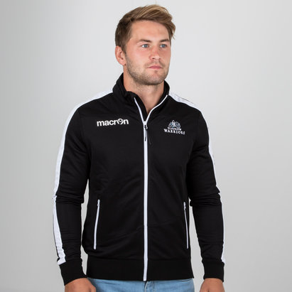 Macron Glasgow Warriors 2018/19 Players Full Zip Rugby Anthem Jacket