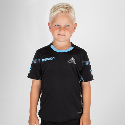 Macron Glasgow Warriors 2018/19 Kids Dry Rugby Training T-Shirt