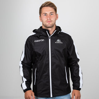 Macron Glasgow Warriors 2018/19 Players Full Zip Showerproof Jacket