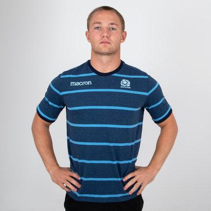 Macron Scotland 2018/19 Travel Rugby T-Shirt