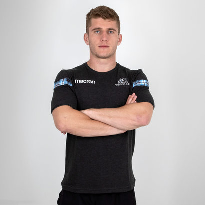 Macron Glasgow Warriors 2018/19 Travel Polycotton S/S T-Shirt