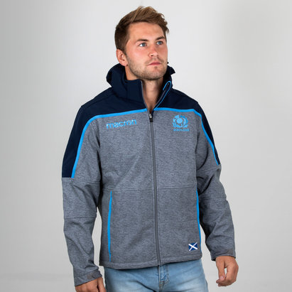 Macron Scotland 2018/19 Players Softshell Rugby Jacket