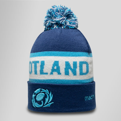 Macron Scotland 2018/19 Rugby Bobble Hat