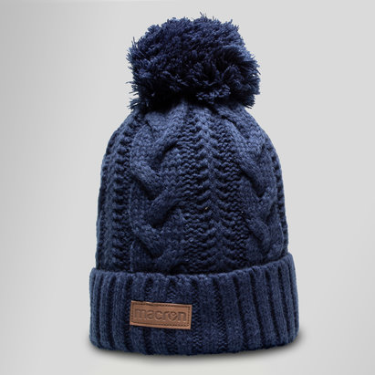 Macron Scotland 2018/19 Woven Rugby Bobble Hat