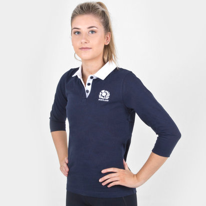 Macron Scotland 2018/19 Ladies Murrayfield Replica Rugby Shirt