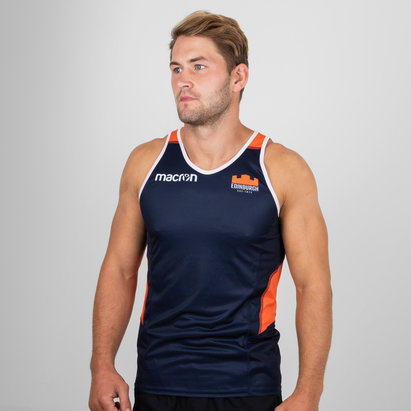 Macron Edinburgh 2018/19 Players Dry Training Gym Singlet