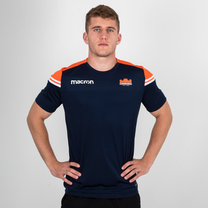 Macron Edinburgh 2018/19 Players Dry Training Gym T-Shirt