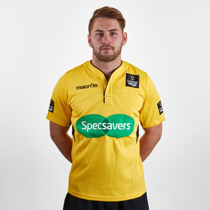 Macron Pro 14 Official Referee Playing Rugby Shirt