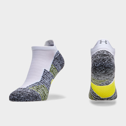 Under Armour Charged Cushion No Show Socks