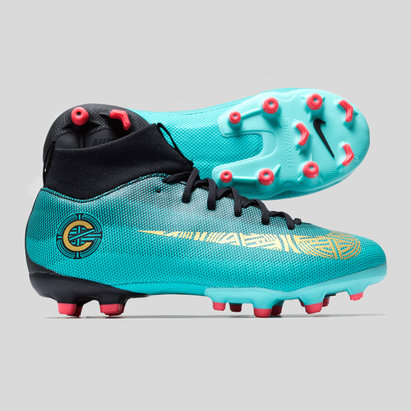 Nike Mercurial Superfly VI CR7 Kids Academy GS FG/MG Football Boots