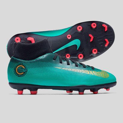 Nike Mercurial Superfly VI CR7 Kids Club FG/MG Football Boots