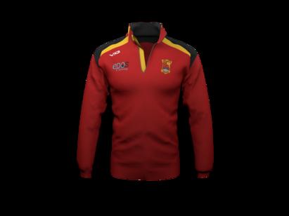 VX3 Carmarthen Quins RFC 1/2 Zip Sweatshirt