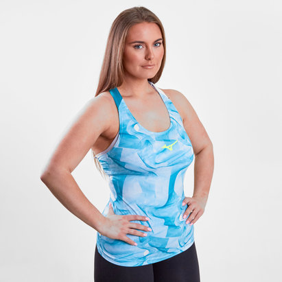 Mizuno Ladies Printed Training Tank Top