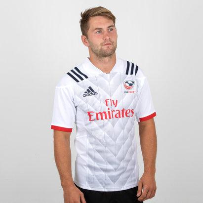 adidas USA Eagles 2018 Home S/S Replica Rugby Shirt