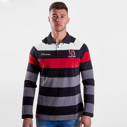 Kukri Ulster 2018/19 Yarn Dye L/S Rugby Shirt