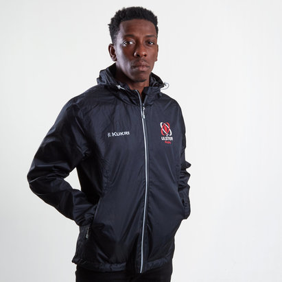 Kukri Ulster 2018/19 Players Rain Rugby Jacket