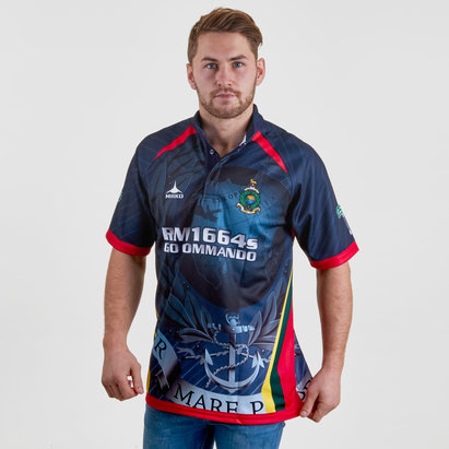 Kitworld Royal Marines 7's 2018/19 S/S Replica Rugby Shirt