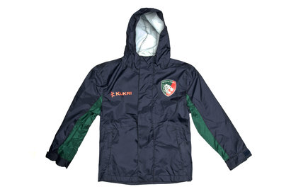 Kukri Leicester Tigers 2017/18 Kids Breathable Rugby Shower Jacket