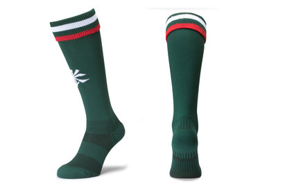 Kukri Leicester Tigers 2017/18 Kids Home Rugby Socks