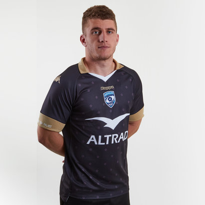 Kappa Montpellier 2018/19 3rd S/S Replica Rugby Shirt