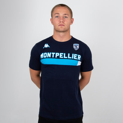 Kappa Montpellier 2018/19 Ambra Rugby T-Shirt