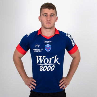 Kappa FC Grenoble 2018/19 Home Replica Shirt