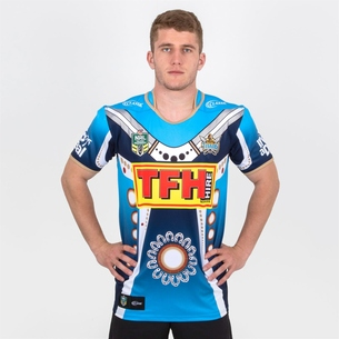 Classic Sportswear Gold Coast Titans 2018 NRL Indigenous S/S Rugby Shirt