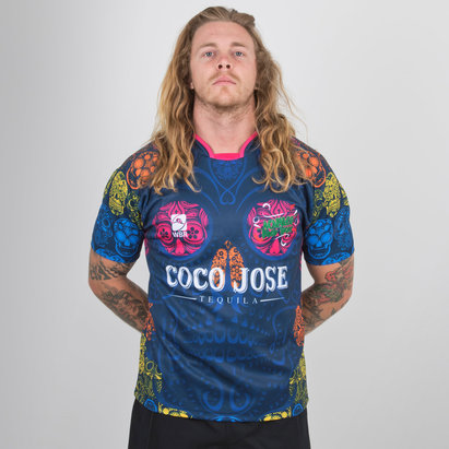 World Beach Rugby Acapulco Poco Locos 2019 Home S/S Rugby Shirt