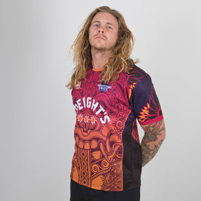 World Beach Rugby Queenstown Knights 2019 Home S/S Rugby Shirt
