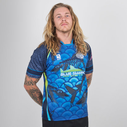World Beach Rugby Bali Sharks 2018/19 Home S/S Rugby Shirt