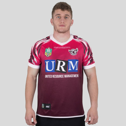 ISC Manly Sea Eagles NRL 2018 Women in League S/S Rugby Shirt