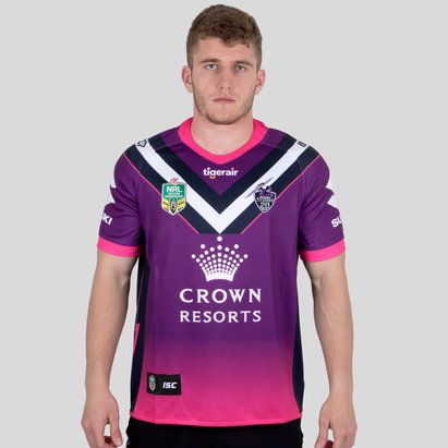 677f17c855b ISC Melbourne Storm NRL 2018 Women in League S S Rugby Shirt