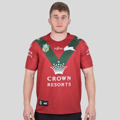 ISC South Sydney Rabbitohs NRL 2018 Alternate S/S Rugby Shirt
