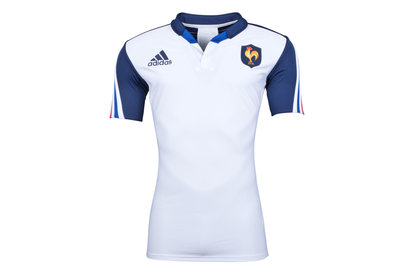 adidas France 2013/14 Alternate Players Authentic S/S Rugby Shirt