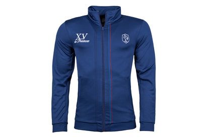 adidas France Full Zip Players Rugby Jacket
